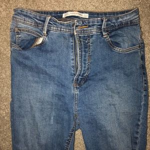 ZARA High Waisted Jeans